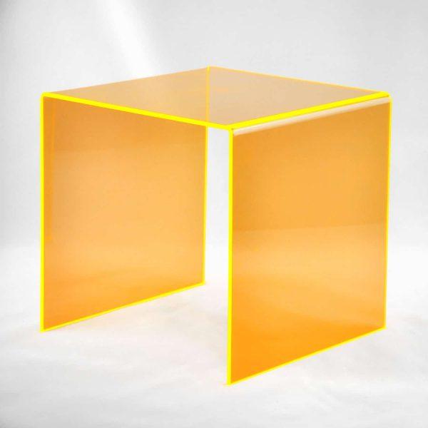 Podest orange transparent