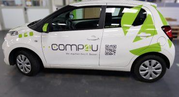 Fahrzeugbeschriftung Comp4u 1