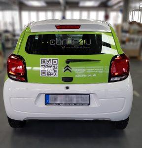 Fahrzeugbeschriftung Comp4u 4