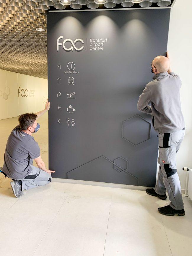 Hansen Werbetetechnik Projektbeispiel Frankfurt Airport Center01
