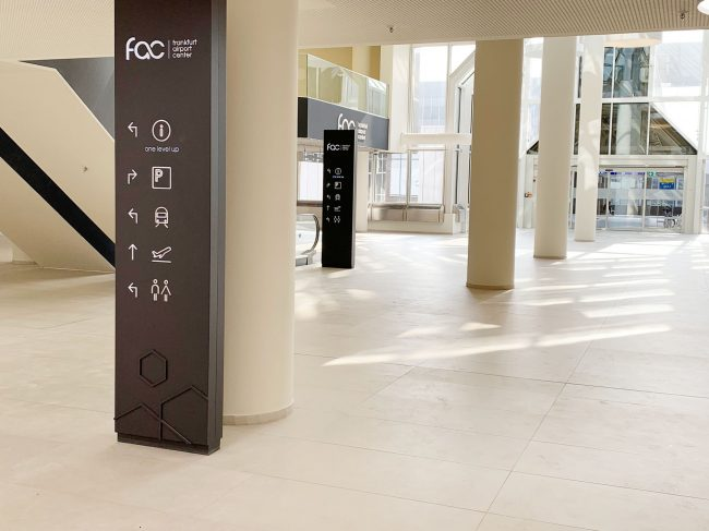 Hansen Werbetetechnik Projektbeispiel Frankfurt Airport Center05