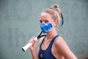 Mundmaske Tennis