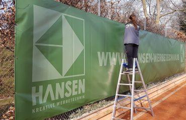 Tennis Banner hansen