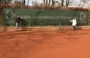 Tennis Banner hansen3 tri