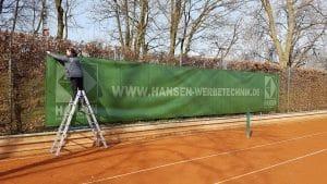 Tennis Banner noratis 2