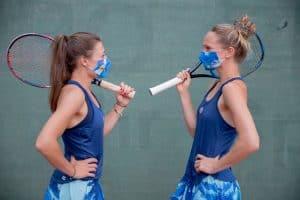 Tennismasken