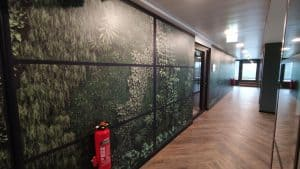 Wallfolie Wald 3