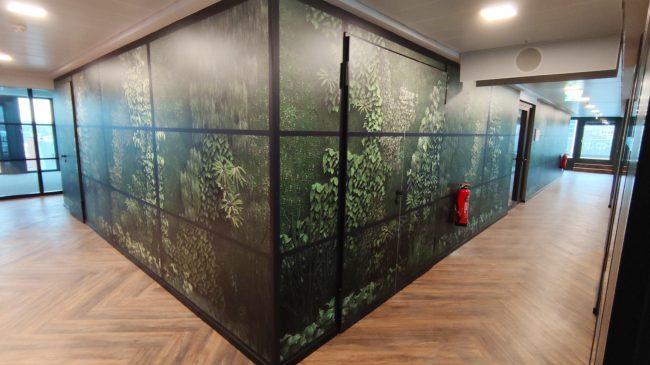 Wallfolie Wald 4 1
