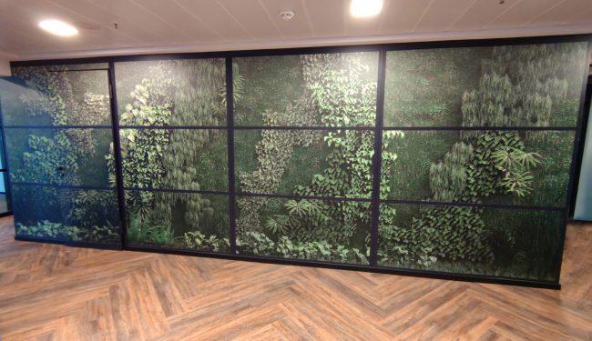 Wallfolie Wald 5 1