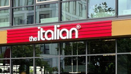 the italian Lichtwerbung